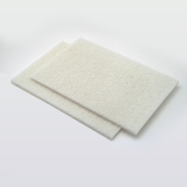 White Fibratex Pad